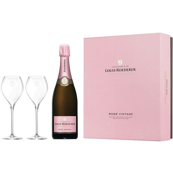 Louis Roederer Rose 11 Gift Set ($110) ❤ liked on Polyvore featuring home, home decor, pink home decor, rose home decor, limited edition gift set, grapes home decor and pink home accessories