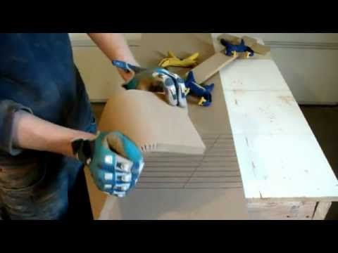 ▶ Kerfing 101 - How to Kerf MDF for your subwoofer enclosure - FULL Detail - Car Audio Fabrication CAF - YouTube Kerfing math too!