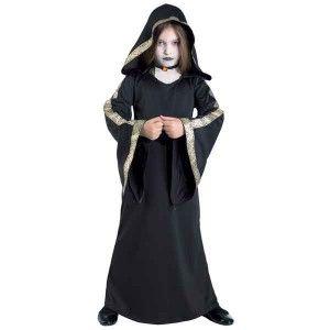 Gothic Queen στολή Γκόθικ για κορίτσια με κουκούλα