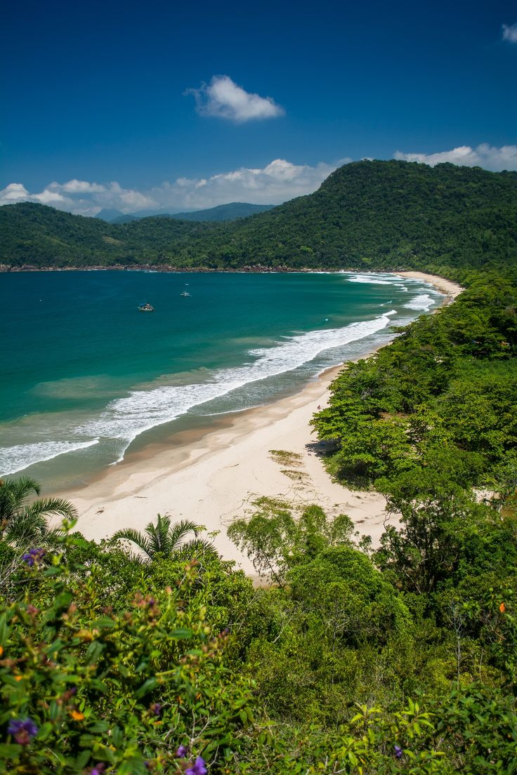 Trek through the rainforest to Praia do Sono (Sono Beach) and be rewarded with a secluded beach and spectacular views!
