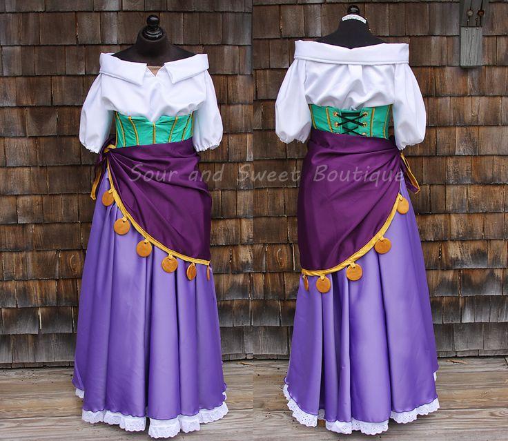 Esmeralda Cosplay Costume Tutorial (The Hunchback of Notre Dame)