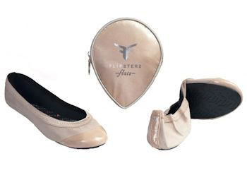 Nude ballet flat..just simple & chic !