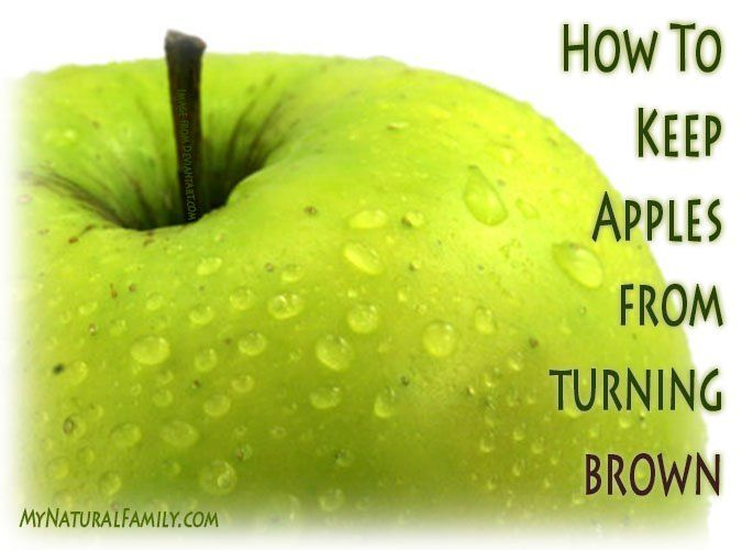 How to Keep Apple Slices from Turning Brown for Several ...