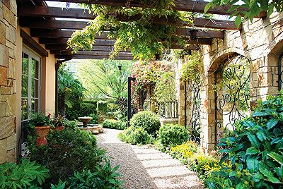 Tuscan Garden by decorology, via Flickr