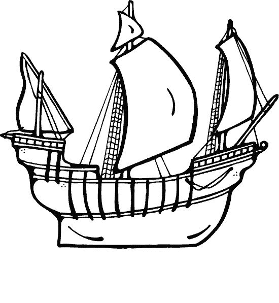 google coloring book pages boats - photo#11