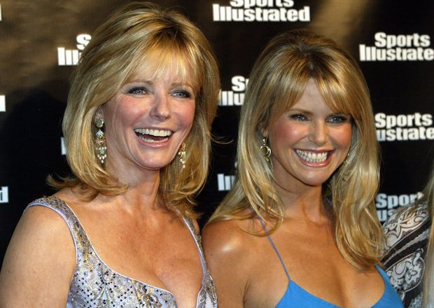 Cheryl tiegs & christie brinkley