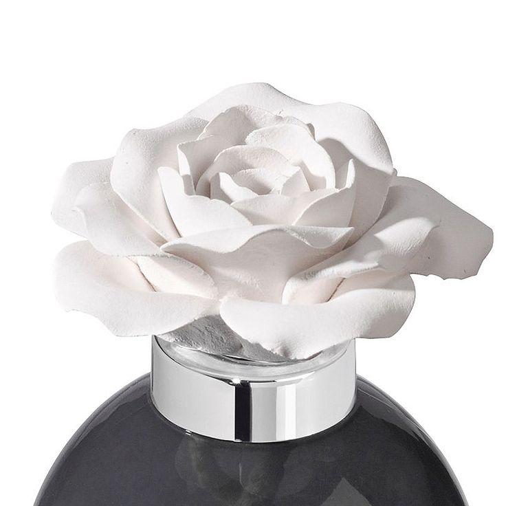 Parfum Berger – aroma difuzér Keramická růže, Vzácný jasmín. 200 ml