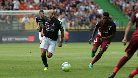 Andros Townsend against FC Metz
