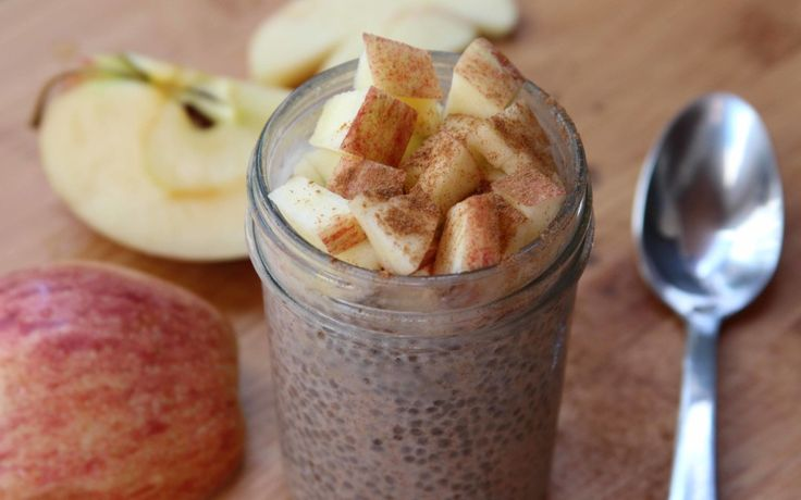 Apple Spice Chia Seed Pudding
