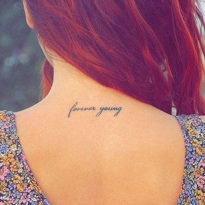 35 Splendid Back of Neck Tattoo Designs