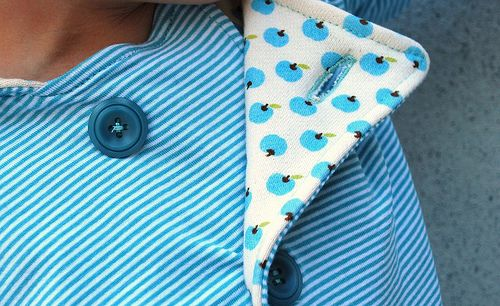 How to sew pocket holes in knit fabric tutorial in Dutch but clear pictures