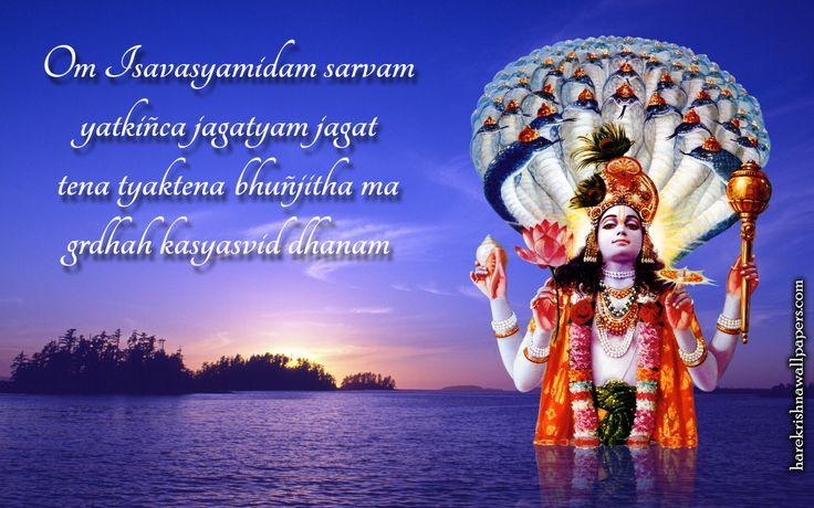 To view Vishnu wallpapers in difference sizes visit - http://harekrishnawallpapers.com/sri-vishnu-artist-wallpaper-001/