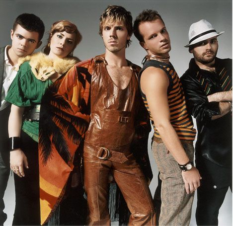 """Scissor Sisters. Jake Shears and the gang can deliver with pure pop better than any other group in recent memory. """"I don't feel like dancin'..."""""""