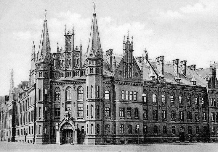 Koenigsberg 1905 St.Georgenhospital in der Turnerstrasse 4 (in der Vorstadt Habeberg suedlich des Kneiphofs)
