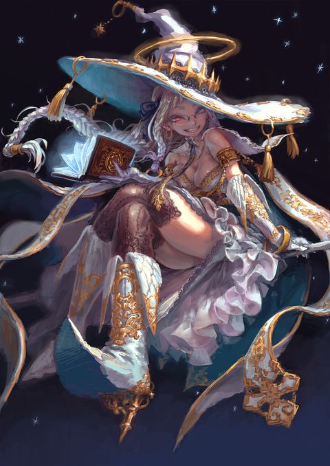 Awesome White Witch