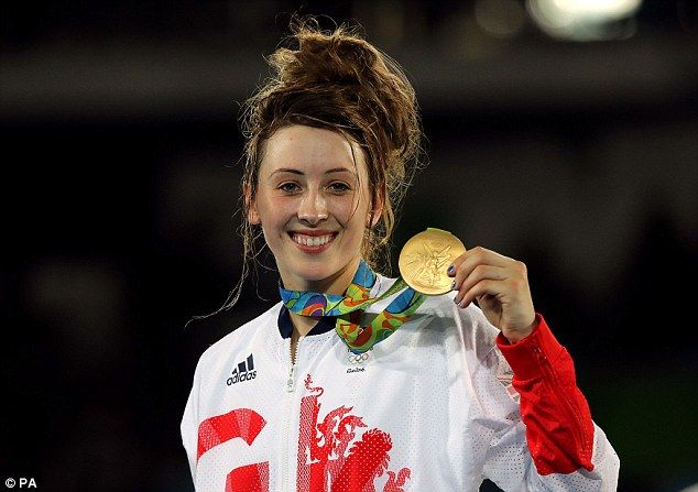 Congratulations to Jade Jones for winning a gold medal in Taekwondo for Great Britain!