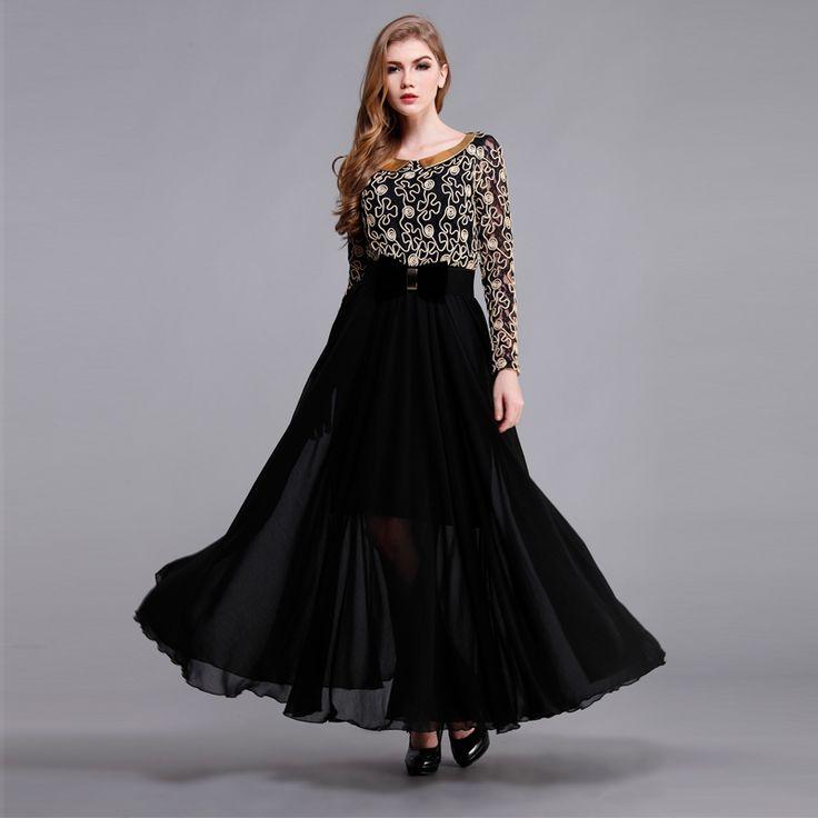 Long sleeve maxi dress for sale