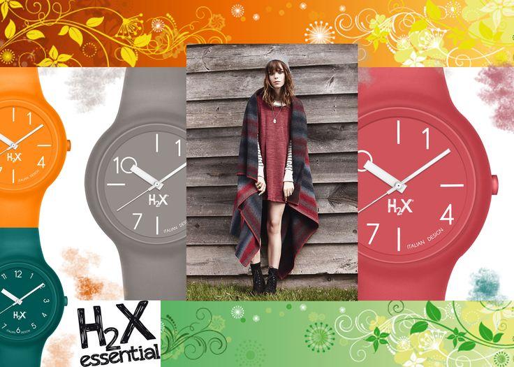H2X ONE LADY: orologi made in Italy in silicone anallergico con cover e cinturino intercambiabile. Scegli il colore che scandisce il tuo tempo. Italian watches style!