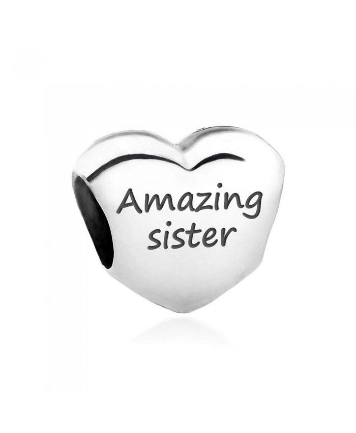 pandora loving sister charm