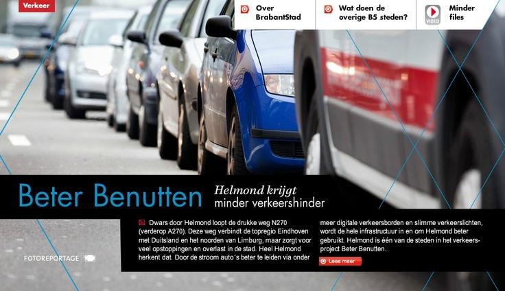 Beter Benutten: Helmond krijgt minder verkeershinder