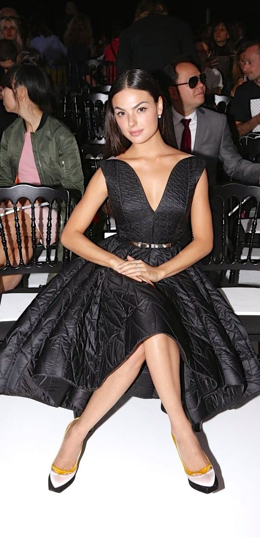 Front row @ Dior - Spring 2015