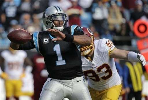 """Redskins players say name controversy played role in loss to Carolina.  """"At the end of the day, it's the name,"""" he said, referencing the controversy about the Redskins name. """"I'm just frustrated with it. We shouldn't have to be punished for that. It's been every game, calls after calls that should've been made in our favor, but it goes (against Washington)."""