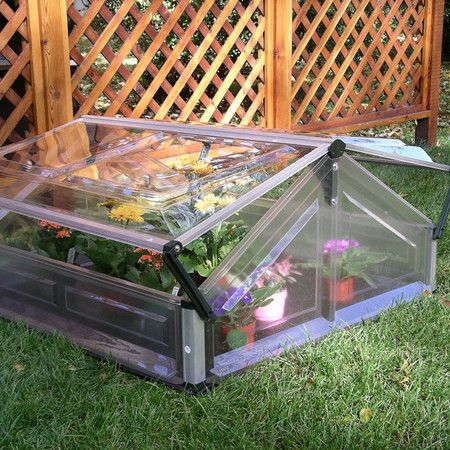 "Found it at Wayfair - Double 21"" H x  3'5"" W  x 3'5"" D Polycarbonate 0.8 mm Cold Frame Greenhousehttp://www.wayfair.com/daily-sales/p/Greenhouses-%26-Gardening-Essentials-Double-21%22-H-x--3%275%22-W--x-3%275%22-D-Polycarbonate-0.8-mm-Cold-Frame-Greenhouse~PY1057~E15252.html?refid=SBP.rBAZEVPdtOafHROPgGmXAtrJ-g-P3U-Eh7nRnxsf4jU"