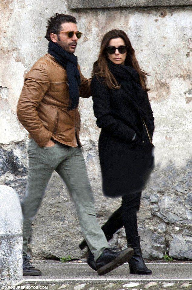 A romantic break abroad: Eva Longoria and her fiancéJose Antonio Baston, the couple put a...