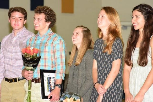 Spring athletes from Webb School were honored at the sports awards ceremony on May 18 in the Barton Athletic Centre. Congratulations! #usa #boarding #schools