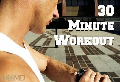 30 minutes to a better #body. This set has cardio & resistance training, plus it's short enough to fit into a busy weekend.