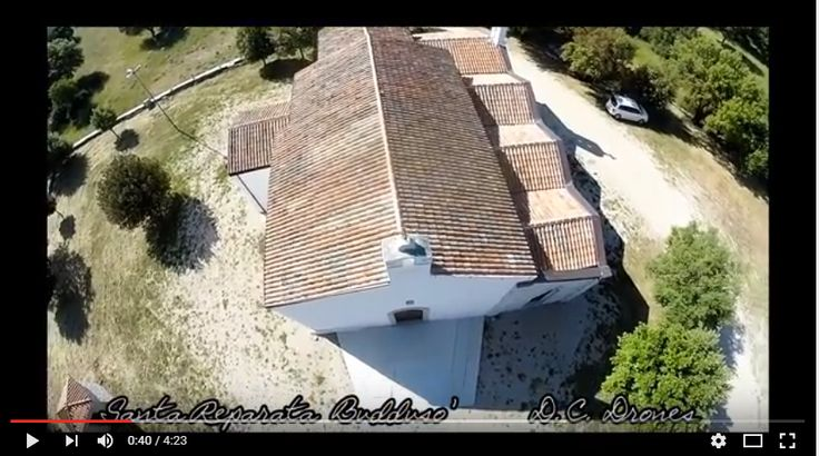 ** VIDEO ** La chiesa di Santa Reparata vista dal drone