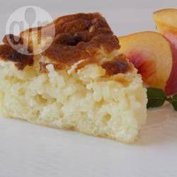 Dit is een typische rijstcake die overal in Italië te vinden is. Deze versie is makkelijk omdat je slechts melk, rijst, suiker en eieren nodig hebt.