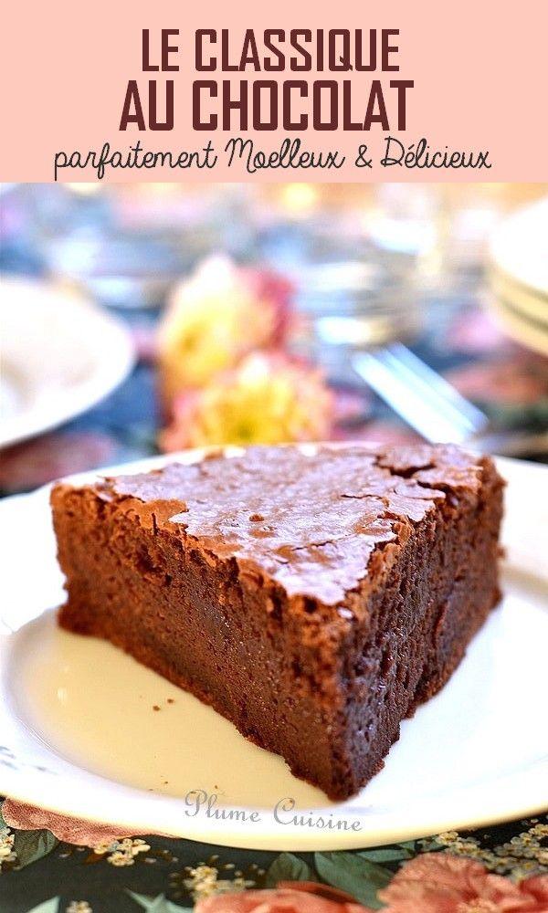 Gateau Au Chocolat Super Bon Et Facile Gateau Chocolat Facile Recette Gateau Chocolat Facile Recette Gateau Facile