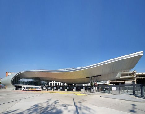 Slough Bus Station by Bblur Architecture. UK.