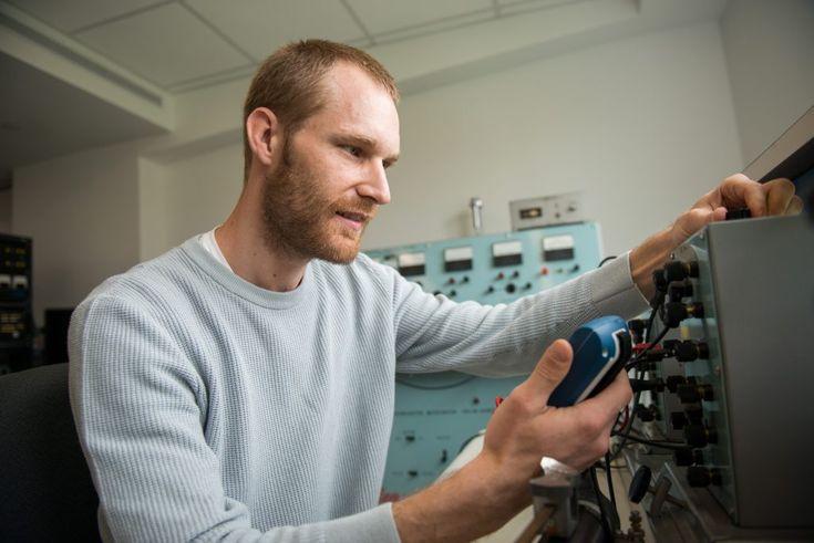 Veteran student prepares for Air Force internship in electrical engineering