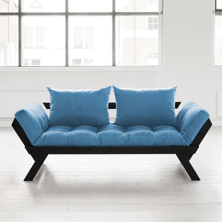 Fresh Futon Bebop Black Convertible Futon Sofa Blue Bebopbl006 Futon Sofa Pink Furniture Sofa