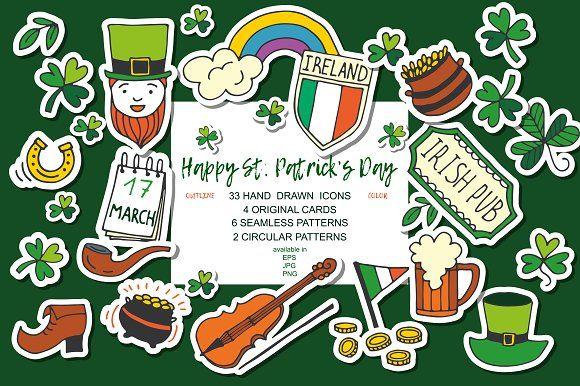 Happy St. Patrick's Day by Sofimix on @creativemarket