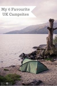 The best UK Camp Spots ... as voted by me! {Big World Small Pockets}