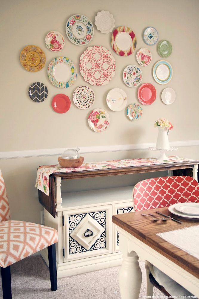 best 25+ plate wall ideas that you will like on pinterest | plate
