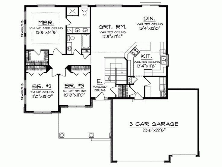60 best Floor Plans images on Pinterest | House floor plans, Dream ...