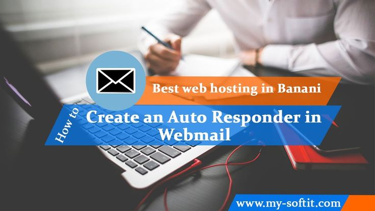 Best Web Hosting in Banani-How to Create an Auto Responder in Webmail