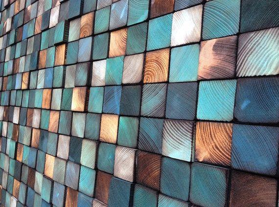 Wood Sculpture Headboard or Wall Art by WallWooden on Etsy
