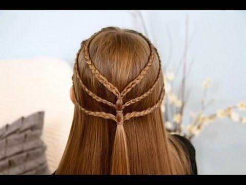Triple-Braided Tieback