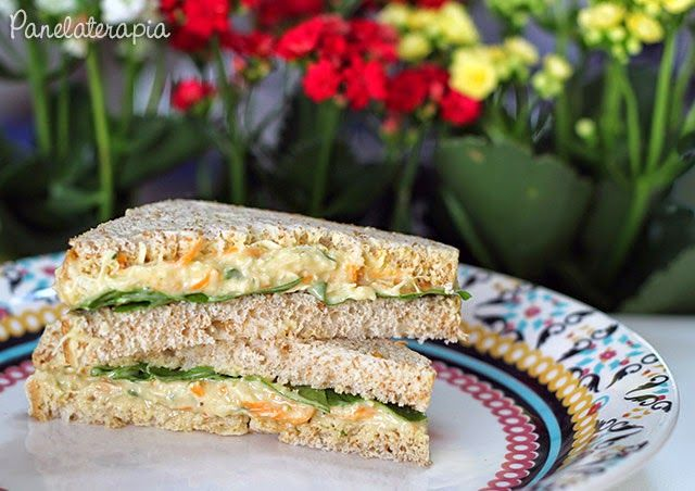 PANELATERAPIA - Blog de Culinária, Gastronomia e Receitas: Sanduíche Natural de Frango
