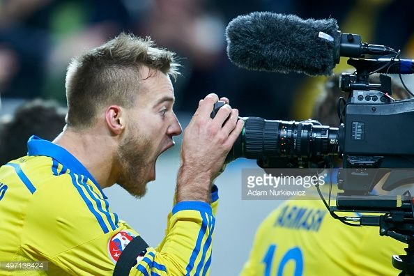 Ukraine v Slovenia - UEFA EURO 2016 Qualifier: Play-Off First Leg | Getty Images