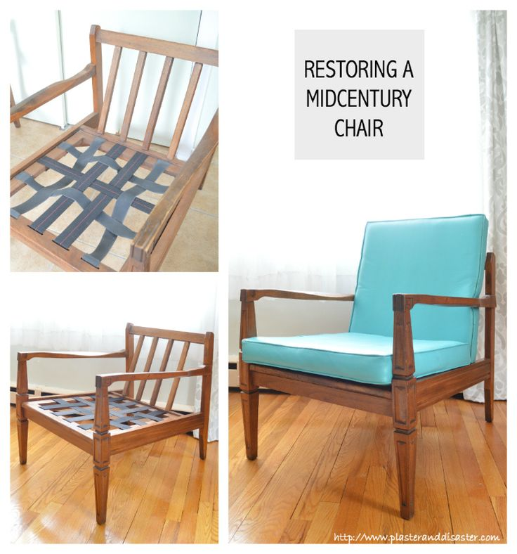 Fixing Up My New Mid Century Chairs Plaster Disaster Mid Century Lounge Chairs Mid Century Chair Cushions Mid Century Chair