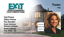 Exit Realty Business Card WP2401. Visit http://www.bestprintbuy.com/exit-realty/exit-realty-business-cards/exit-realty-business-cards-with-photo.htm
