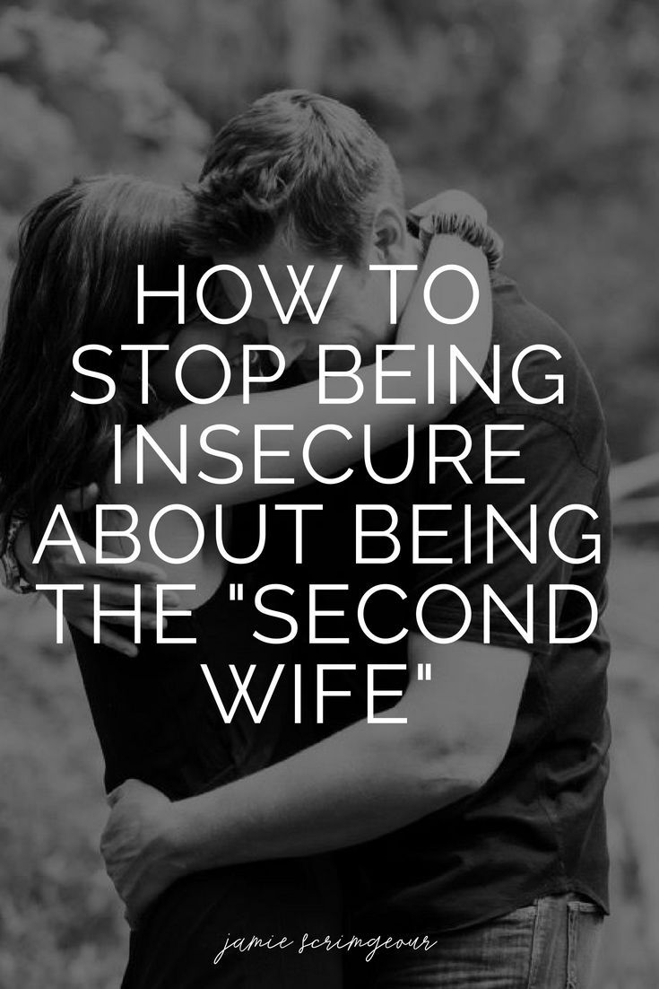 Insecure wife marriage