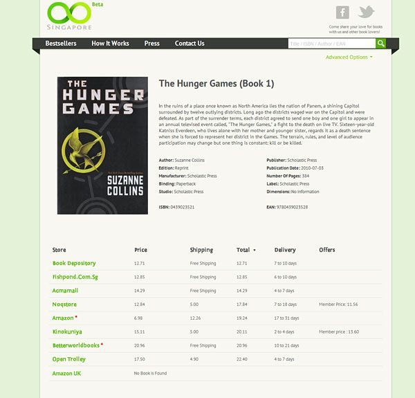 Oo.sg Helps You Find the Cheapest Books in Singapore........ http://www.hardwarezone.com.sg/tech-news-oosg-helps-you-find-cheapest-books-singapore?utm_source=hardwarezone_medium=email_term=oosg-helps-you-find-cheapest-books-singapore_content=textlink_campaign=hardware-zone-news