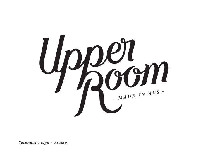Upper Room - Leather Goods Logo design and branding.